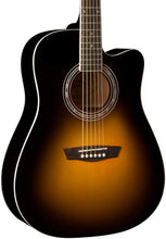 Load image into Gallery viewer, Washburn WA90CESB Acoustic Electric Guitar - Vintage Tobacco Burst