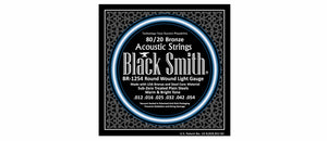 Black Smith BR1254 80/20 Bronze Acoustic Guitar Strings Set - Light