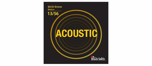 Black Smith BR1356 80/20 Bronze Acoustic Guitar Strings Set - Medium