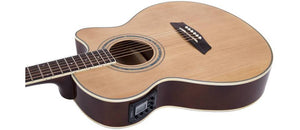 Washburn EAT12 Acoustic Electric Thinline Mini Jumbo Guitar