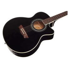 Load image into Gallery viewer, Washburn EA12B Acoustic Electric Guitar