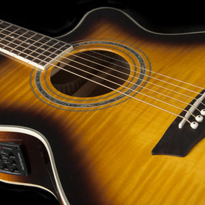 Washburn EA15ATB Acoustic Electric Guitar