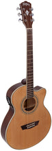 Load image into Gallery viewer, Washburn EAT12 Acoustic Electric Thinline Mini Jumbo Guitar + Free Bag