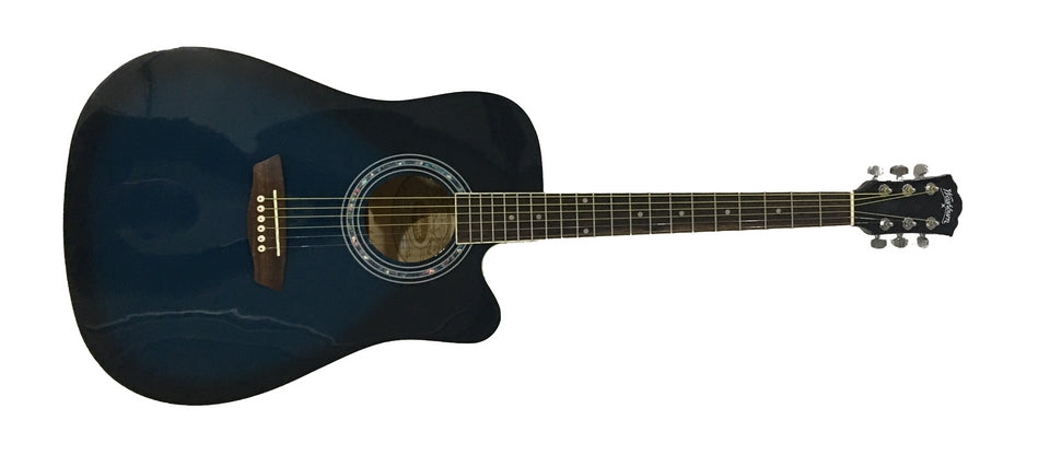 Washburn WA90CEBL Acoustic Electric Guitar