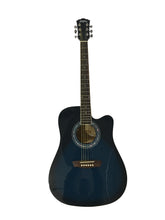 Load image into Gallery viewer, Washburn WA90CEBL Acoustic Electric Guitar