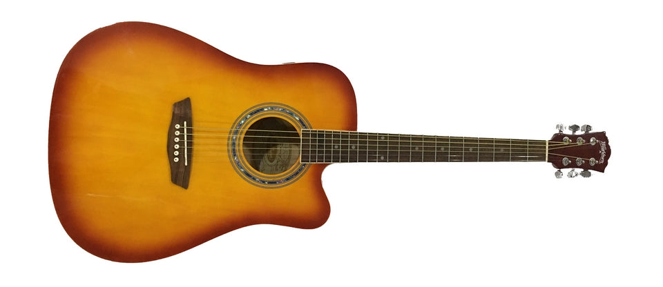 Washburn WA90CETS Acoustic Electric Guitar - Sunburst