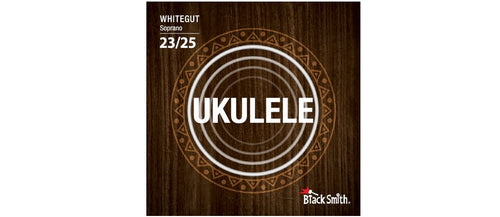 Black Smith Soprano Ukulele Strings White Gut - WG-25S