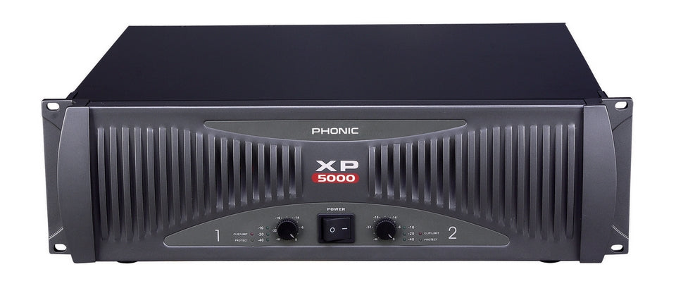 Phonic XP5000 Power Amplifier 5000W RMS