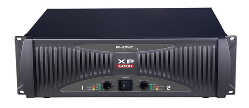 Phonic XP6000 Power Amplifier 6000W RMS