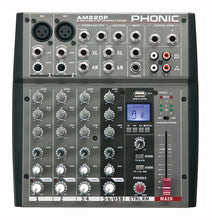Load image into Gallery viewer, Phonic AM220P 6 Channel Mixer with USB Player
