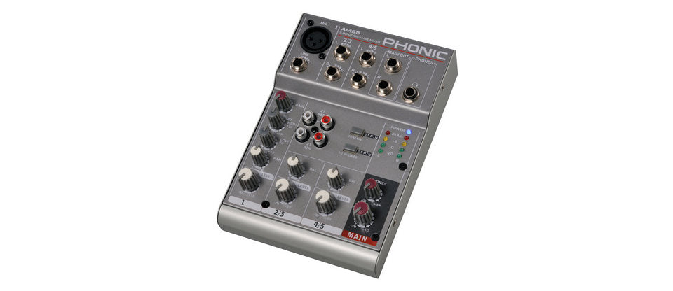 Phonic AM55 5 Channel Mixer