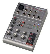 Load image into Gallery viewer, Phonic AM55 5 Channel Mixer