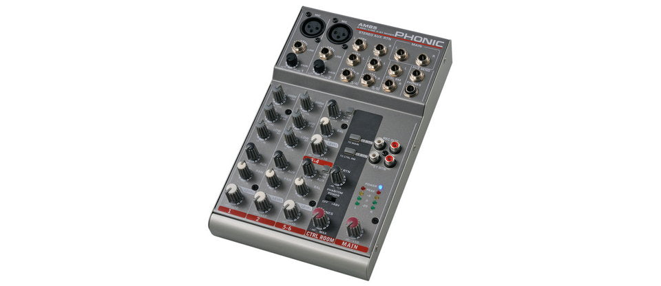 Phonic AM85 6 Channel Mixer