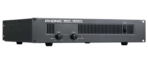 Phonic MAX1500PLUS 900W Power Amplifier