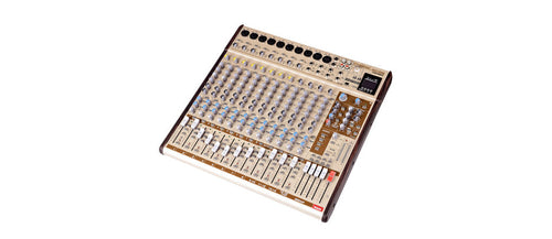 Phonic AM16GE 16 Channel Mixer with BT, TF Recording, USB Interface