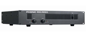 Phonic MAX2500PLUS 1500W Power Amplifier