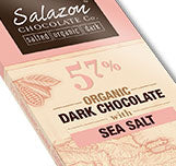 57% Organic Dark Chocolate with Natural Sea Salt