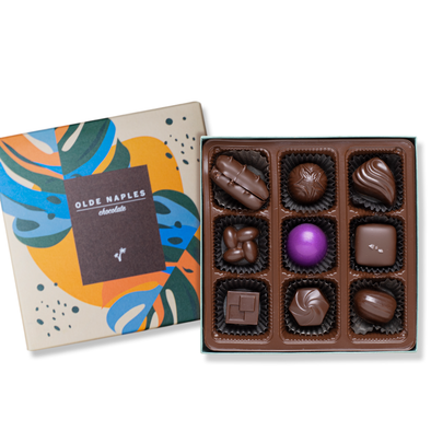 Dark Chocolate Collection Box | 9 Pieces