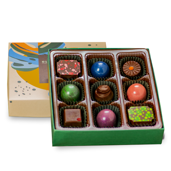 Fruity Truffle Box | 9 Pieces