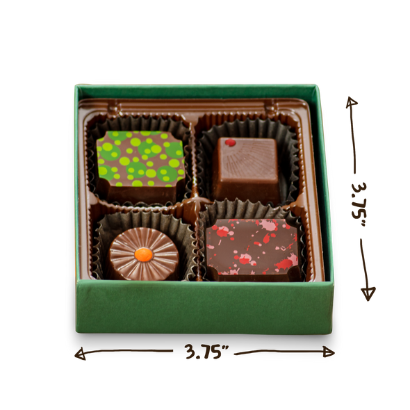 Truffle Selection Box | 4 Pieces