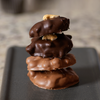 Milk and Dark Chocolate Turtles | 4 pieces