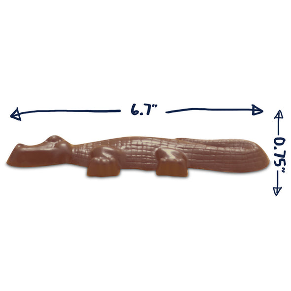 Sally The Gator, Chocolate Alligator | 2.5 oz