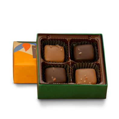 Salted Caramel Box | 4 Pieces