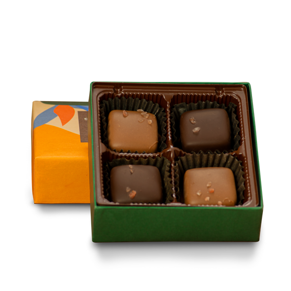 Salted Caramel Mix Box | 4 Pieces