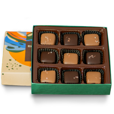 Salted Caramel Box | 9 Pieces