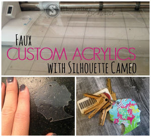Check Out How To Make Faux Custom Acrylics!