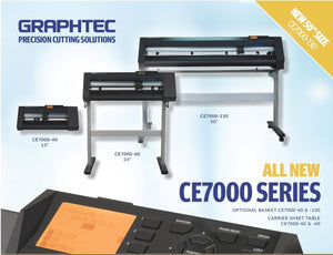 Graphtec Launches the CE7000 Series, replacing the CE6000 line