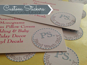 SILHOUETTE CAMEO STICKER TUTORIAL FOR BEGINNERS
