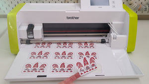 Sticker Making with the ScanNCut (How to use the built-in scanner)