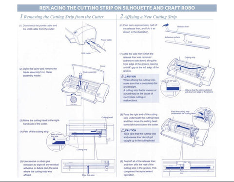 Replacing Cutting Strip Guide
