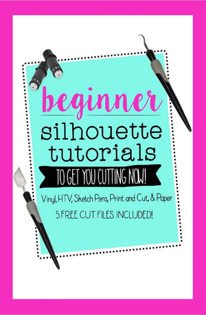 5 Project Starter Guide by Silhouette School - Swing Design