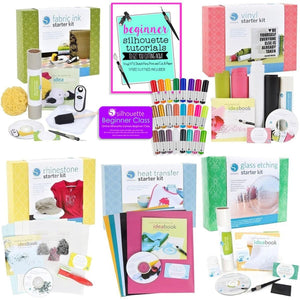 Beginner Starter Kit Bundle with 5 Starter Kits, Sketch Pens and 5 Project Starter Guide - Swing Design