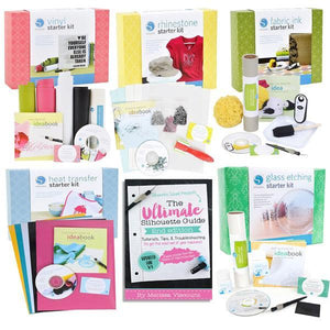 Beginner Starter Kit Bundle with Ultimate Silhouette Cameo Guide E-Book - Swing Design