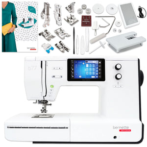 Bernette B77 Deco Sewing & Quilting Machine Bundle Brother Sewing Bundle Bernette