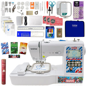 Brother LB000M Embroidery Marvel Machine w/ Embroidery Bundle Brother Sewing Bundle Brother