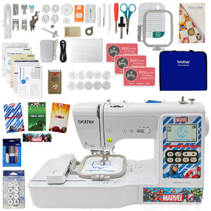 Brother LB000M Embroidery Marvel Machine w/ Sewing Bundle Brother Sewing Bundle Brother