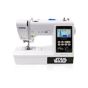 "Brother LB000S Sewing & Embroidery Star Wars Edition 4"" x 4"" Brother Sewing Bundle Brother"