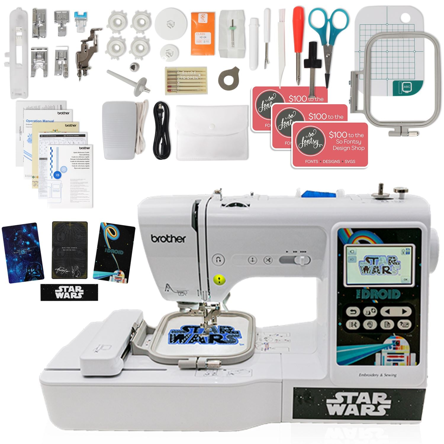 Brother LB5000S Star Wars Sewing and Embroidery Machine