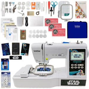 Brother LB5000S Embroidery Star Wars Machine w/ Sewing Bundle Brother Sewing Bundle Brother