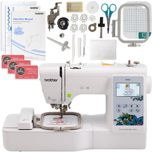 "Brother PE535 Embroidery Machine Bundle 4"" x 4"" Brother Sewing Bundle Brother"