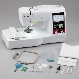 "Brother PE550D Embroidery Machine Disney Edition 4"" x 4"" Brother Sewing Bundle Brother"