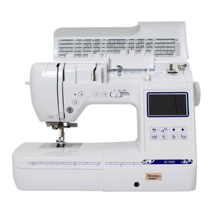 "Brother SE1900 5"" x 7"" Embroidery Machine w/ Embroidery Bundle Brother Sewing Bundle Brother"