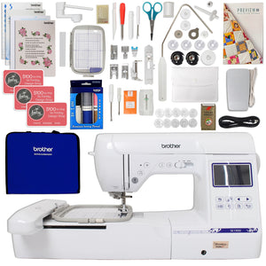 "Brother SE1900 5"" x 7"" Embroidery Machine w/ Sewing Bundle Brother Sewing Bundle Brother"