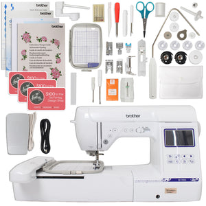 "Brother SE1900 Sewing and 5"" x 7"" Embroidery Machine Bundle Brother Sewing Bundle Brother"