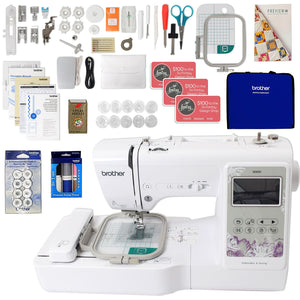 "Brother SE600 4"" x 4"" Embroidery Machine w/ Sewing Bundle Brother Sewing Bundle Brother"