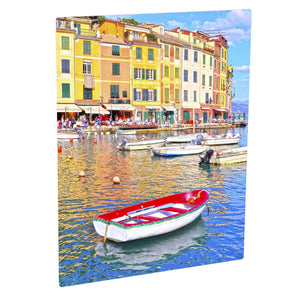ChromaLuxe White Metal Prints - Gloss 8 x 10 Inches Sublimation Unisub
